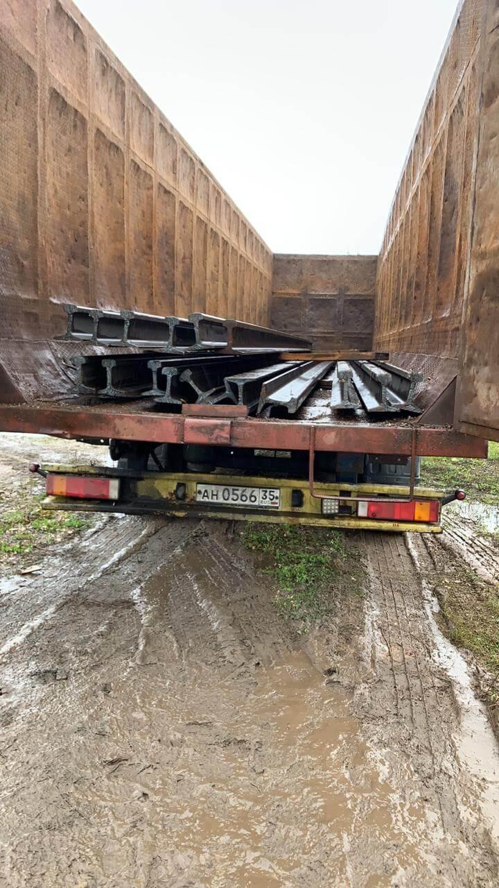Перевозка металлолома контейнером Вологда
